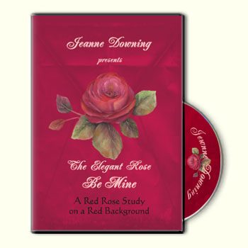 The Elegant Rose - Be Mine DVD by Jeanne Downing