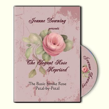 The Elegant Rose - Reprised DVD by Jeanne Downing