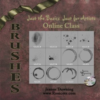 Just the Basics Brushes Online Course with Jeanne Downing