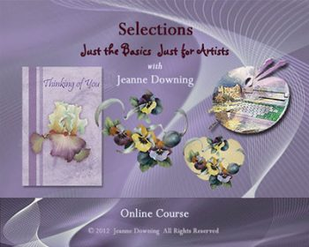 Just the Basics Selections Online Class with Jeanne Downing