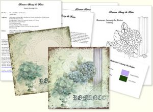 Romance Among the Ruins Design Kit by Jeanne Downing