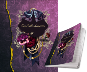 Embellishments Journal designed by Jeanne Downing