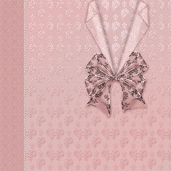 Brocade & Lace Decolletage E-Background by Jeanne Downing