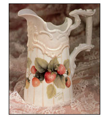 Strawberry Creamer from Elegant Beginnings by Jeanne Downing