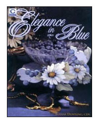 Blooms and Berries from Elegance in Blue by Jeanne Downing
