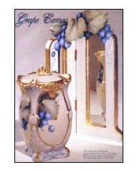 Grape Cameo from Elegance in Blue by Jeanne Downing