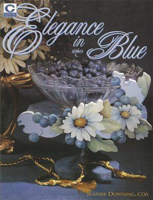 Elegance in Blue by Jeanne Downing