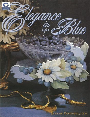 Elegance in Blue by Jeanne Downing