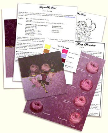 Key to My Heart Design Kit by Jeanne Downing