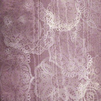 Raspberry Stain Lace Background designed by Jeanne Downing