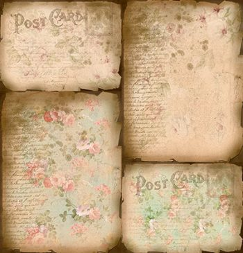 Vintage Papers Backgrounds Bundle 2 by Jeanne Downing