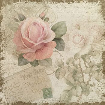 Vintage Romance Rose by Jeanne Downing
