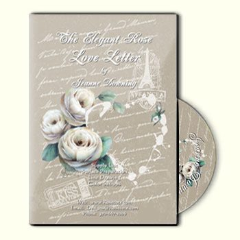 The Elegant Rose - Love Letter DVD by Jeanne Downing