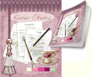 Color Notes Journal designed by Jeanne Downing