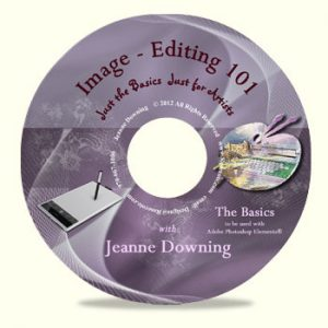 Image Editing 101-The Basics DVD by Jeanne Downing