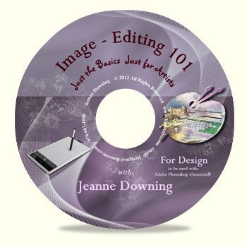 Image Editing 101 For Design DVD by Jeanne Downing