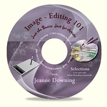 Image Editing 101 - Selections DVD by Jeanne Downing