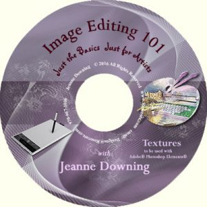 Image Editing 101 Textures DVD by Jeanne Downing