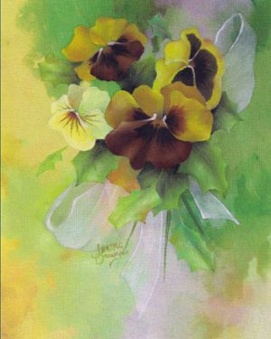Pansies for Christmas Packet by Jeanne Downing