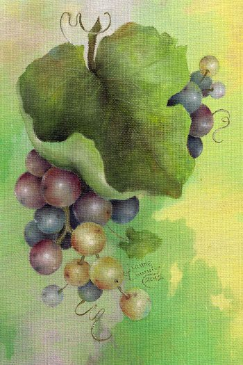 Riesling Grapes Packet by Jeanne Downing