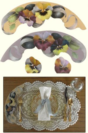 Snippets Plate Charmers Packet by Jeanne Downing