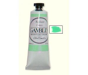 Gamblin Radiant Green Artist Oil Colors