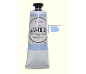 Gamblin Radiant Blue Oil Paint