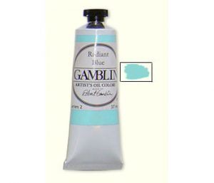 Gamblin Radiant Turquoise Oil Paint