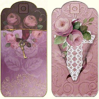 Valentine Gift Tags by Jeanne Downing