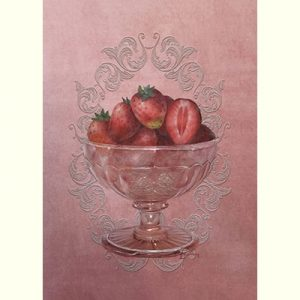Strawberry Sorbet by Jeanne Downing