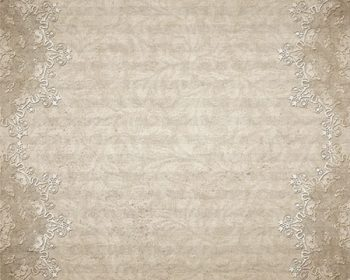 Vintage Lace-buff 10x8 by Jeanne Downing