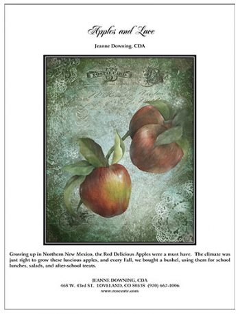 Apples and Lace E-Packet by Jeanne Downing