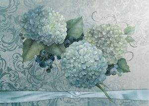 Elegant Blues by Jeanne Downing
