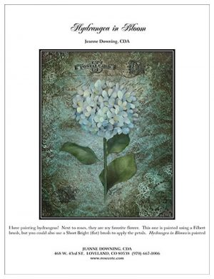 Hydrangea in Bloom E-Packet by Jeanne Downing