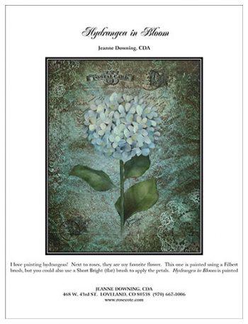 Hydrangea in Bloom E-Packet by Jeanne Downing