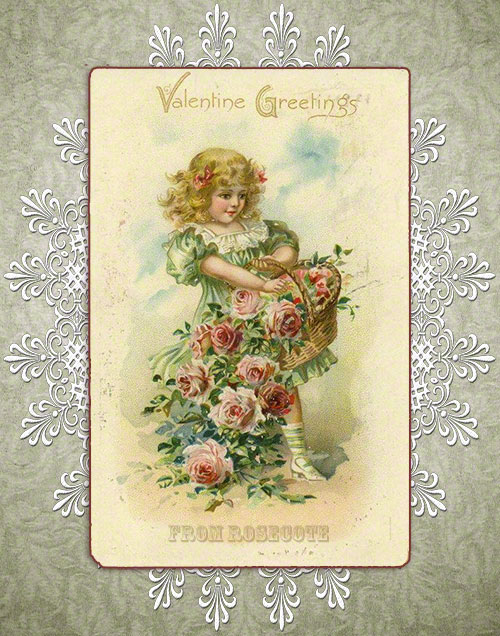 Valentine Greetings from Rosecote