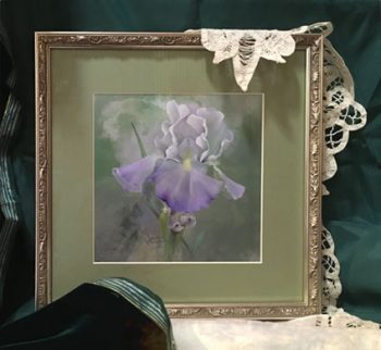 Giverny Iris with Jeanne Downing Zoom Class