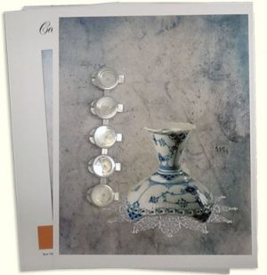 The Parlor in Candlelight Painting Kit