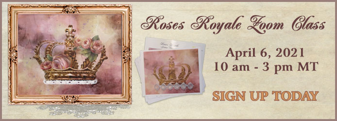 Sign up for the Roses Royale Zoom Class with Jeanne Downing